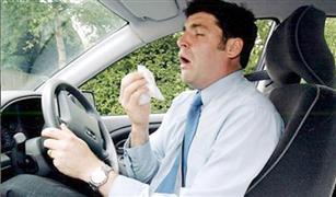 للمصابين بالبرد.. متى تكون قيادتك للسيارة خطر؟