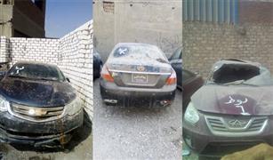 سيارات ملاكي حوادث سارية الترخيص للبيع في مزاد علني
