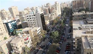 محافظة الجيزة تبدء أعمال تطوير شارع سليمان اباظة  بعد تحوله لساحه انتظار السيارات