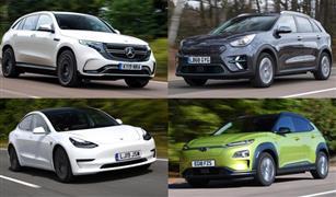أفضل 10 سيارات كهربائية ينصح بشرائها في عام 2020