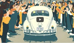 """""""فولكس فاجن"""" تودع سيارتها """"البيتلز"""" بفيديو"""