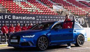 نجوم فريق برشلونة يحصلون على سيارات أودي 2020 هدية