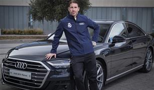 """نجوم """"ريال مدريد"""" يتسلمون """"أودي 2020"""".. وراموس يطلب أغلى سيارة"""