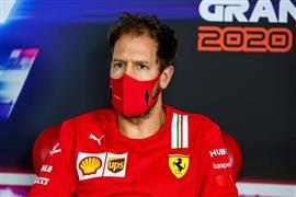"""فيتل يسدل الستار على مسيرة """"فاشلة"""" مع فيراري في فورمولا 1"""