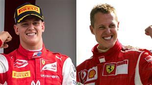 نجل الأسطورة شوماخر يتوج ببطولة العالم لسباقات فورمولا 2