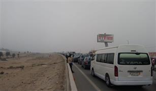 """المرور يفتح طرق """"الإسكندرية"""" و""""وادي النطرون"""" و""""الصحراوي الشرقي"""" بعد زوال الشبورة"""