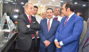 حسن غانم يفتتح الفرع رقم ٩٦ لبنك التعمير والإسكان