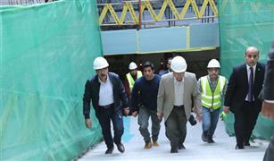 وزير النقل من محطة ماسبيرو: تكلفة الخط الثالث للمترو 97 مليار جنيه