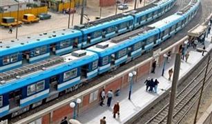 وقف حركة القطارات بالخط الأول للمترو من المرج الجديدة حتى الشهداء برمسيس