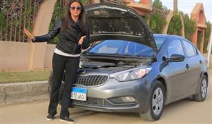 صيانة السيارة على الطريقة النسائية.. هاشتاج رضوى الشربيني يعيد نصائحها عن السيارات للواجهة| فيديو