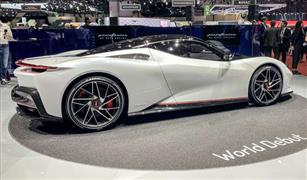 بينينفارينا  تطرح سيارة كهربائية فائقة القوة بسعر 9ر2 مليون دولار