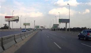 عودة الحركة المرورية لطريق القاهرة الإسكندرية الصحراوى