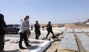 وزير النقل يوجه بتطوير محطة قطارات الجناين