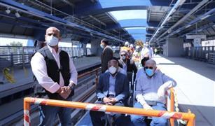 تعرف على نسب تنفيذ مشروع قطار العاشر من رمضان الكهربائي