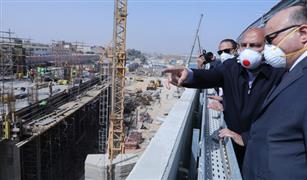 وزير النقل يتفقد أعمال المرحلة الرابعة للخط الثالث لمترو الأنفاق للمرة الثانية خلال 72ساعة