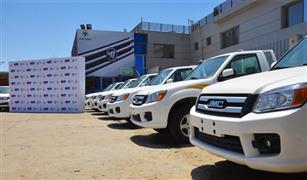«غبور» و«توزيع وسائل النقل» تدعمان القطاع الطبي ب20 شاحنة بيك اب لمواجهة فيروس كورونا