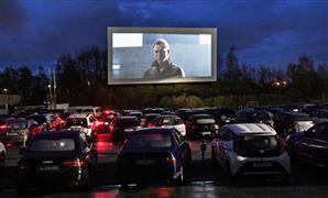سينما السيارات تعيد الجماهير لمباريات الدوري الدنماركي