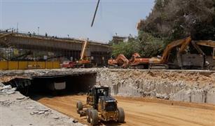 تعديل مسار المرور فى منطقة العروبة بمصر الجديدة