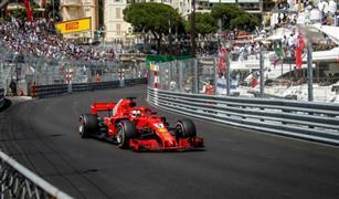 لوكلير يستحوذ على شوارع موناكو لنفسه فقط  من أجل قيادة سيارته الفيراري