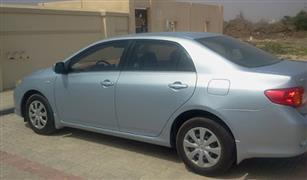 السيارة اليابانية الاولى فى العالم  تعرف على سعر  تويوتا كورولا  موديل 2009 في مصر