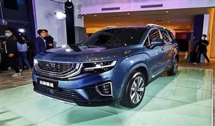 جيلي الصينية تكشف عن سيارة SUV كبيرة بـ7مقاعد