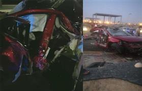 بعد حادث انشطار سيارة نصفين على وصلة دهشور.. خبير يحلل الأسباب ويكشف نقطة خطيرة