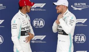 منافسة شرسة بين بوتاس وهاميلتون على صدارة سباق فورمولا-1 الإسباني