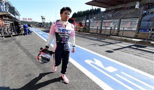 بيريز سائق ريسينج بوينت يتطلع للعودة سريعا إلى منافسات فورمولا-1