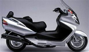 مفاجأة نهاية الاسبوع تعرف على سعر سكوتر برجمان سوزوكى 650 سي سي موديل  2005~2007
