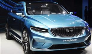 جيلي الصينية تكشف عن سيارة بتصميم فولفو S60| فيديو