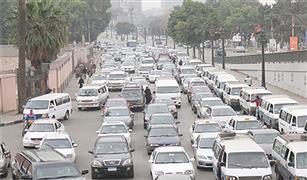 إحذر:كثافات مرورية متحركة بالقاهرة والجيزة .