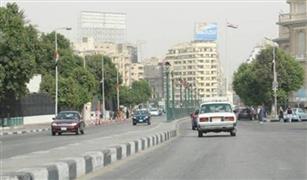 الحالة المرورية على محاور وكبارى القاهرة والجيزة .
