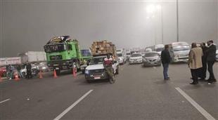 إعادة فتح ١٤طريقا مغلقا بسبب الشبورة وسيولة مرورية بمحاور القاهرة والجيزة