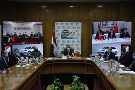 انطلاقة مصرية جديدة.. توقيع اتفاق تصنيع أول سيارة كهربائية بالشراكة مع الجانب الصيني