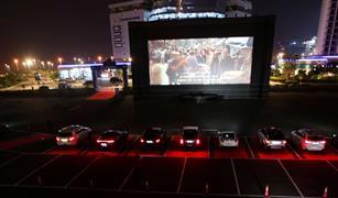 افتتاح أول سينما للسيارات في السعودية