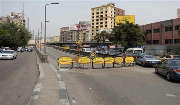غلق كلى لشارع الأهرام بتقاطعه مع المريوطية لتنفيذ أعمال مترو الانفاق