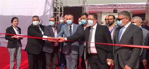 رسميا سلامة يفتتح معرض الأهرام للنقل الخفيف |صور وفيديو
