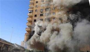 لليوم الثالث.. زحام مرورى بالمريوطة والدائري بسبب حريق عقار فيصل