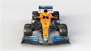 مكلارين أول فريق في فورمولا-1 يكشف عن سيارته الجديدة