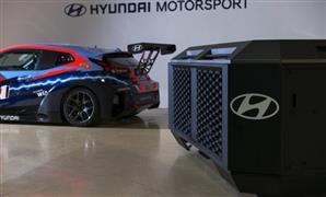فريق هيونداى يشارك فى سباقات السيارات الكهربائية