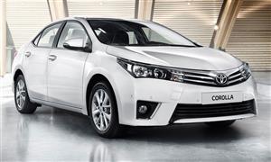 جمارك سيارة تويوتا كورولا موديل 2014 شاملة القيمة المضافة ورسم التنمية