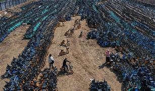 فيديو| حكاية مقبرة لـ آلاف الدراجات الهوائية في الصين