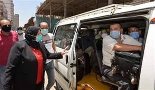 ضبط ٦٤٧ مخالفة لسيارات السرفيس بالقاهرة لزيادة تعريفة الركوب بعد تعديل أسعار البنزين