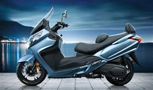 """طراز جديد من الدراجة النارية """" Maxsym 400""""بقوة 34 حصانا"""
