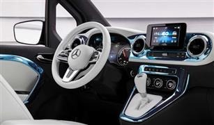 تفاصيل مبهرة في شاحنة مرسيدس Concept EQT الكهربائية