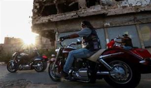 من اجل ليبيا : هواة الدراجات النارية في بنغازي يجوبون شوارعها تحت اشعه الشمس