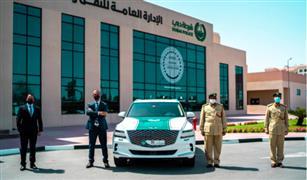 تعرف على اسطول سيارات شرطة دبي الجديدة شديدة الفخامة
