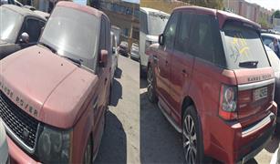 بيع سيارة رانج روفر في مزاد جمرك مطار القاهرة.. كم ثمنها؟