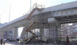 بدء التشغيل التجريبي لكوبرى جرجا أعلى السكة الحديد بمحافظة سوهاج