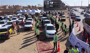شاهد ردود أفعال أصحاب السيارات الجديدة عند استلامها من «مبادرة الإحلال» | فيديو